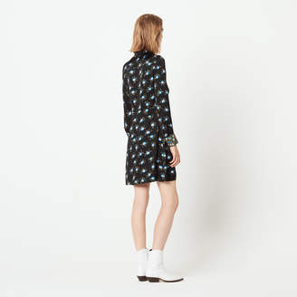 Sandro Short printed dress