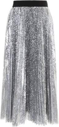 MSGM Micro Sequins Skirt