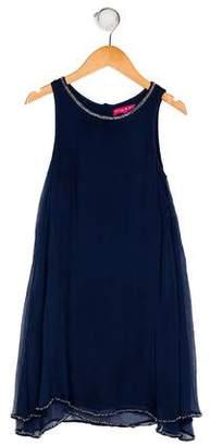 Derhy Kids Girls' Sleeveless Beaded Dress