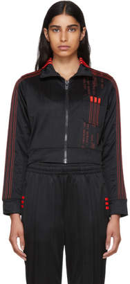adidas by Alexander Wang Black Crop Track Jacket
