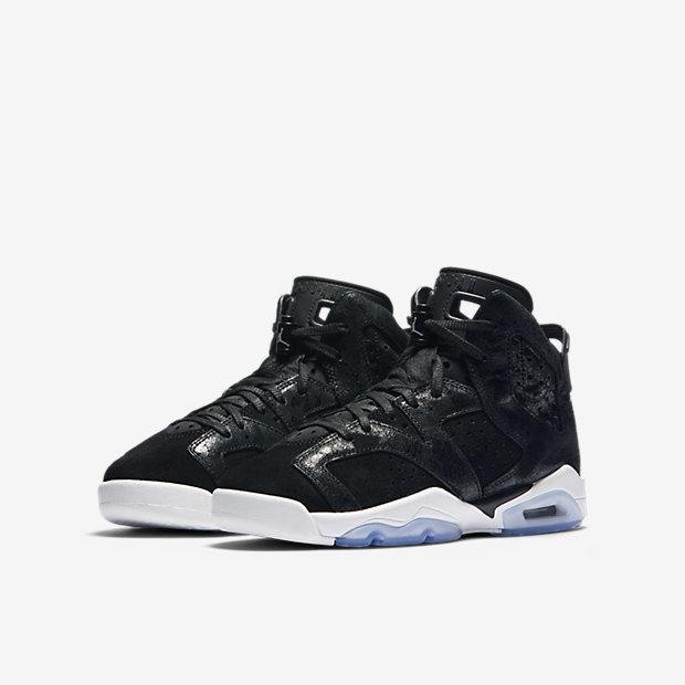 Air Jordan 6 Retro Premium Heiress Big Kids' Shoe 6