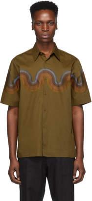 Dries Van Noten Tan Verner Panton Edition Wave Shirt