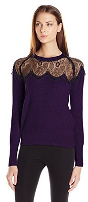 Buffalo David Bitton Women's Belacey Pullover Angora Blend Sweater $63.03 thestylecure.com