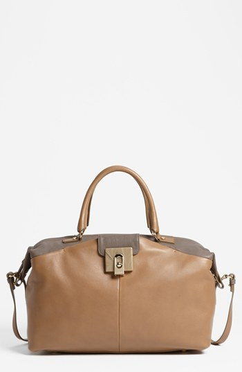 Lanvin 'For Me - Large' Leather Tote