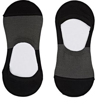 Barneys New York Men's Colorblocked Cotton-Blend No-Show Socks $22 thestylecure.com