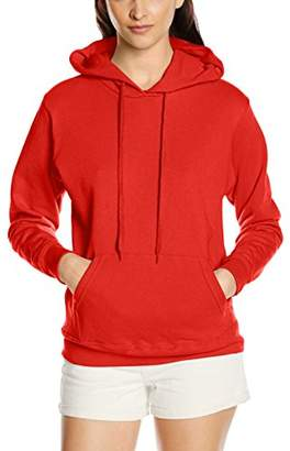 Fruit of the Loom Women's Pull-over Classic Hooded Sweat,8 (Manufacturer Size:)
