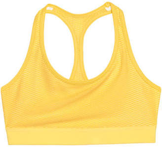 H&M Sports Bra Low support - Yellow