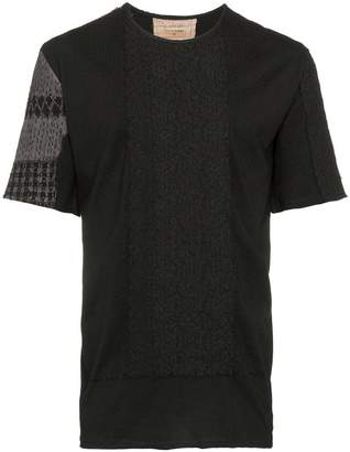 By Walid embroidered short-sleeve cotton t-shirt