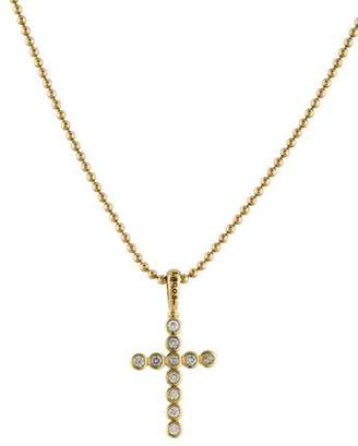 Lagos Diamond Covet Cross Necklace