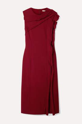 Jason Wu Collection - Ruffled Stretch-crepe Dress - Red