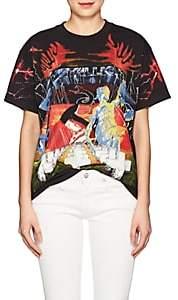 R 13 Women's Metallica Cotton Jersey T-Shirt - Black