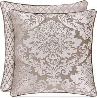 """J Queen New York Bel Air Sand 18"""" Square Decorative Pillow Bedding"""