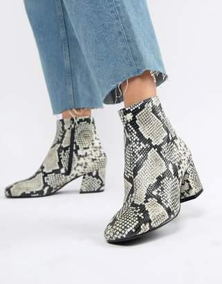 Aldo Piella Snake Print Boots