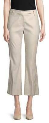 Brunello Cucinelli Crop Flare Trousers