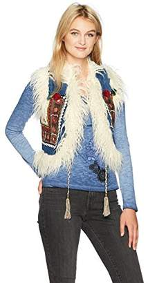 Desigual Women's Lylou Woman Denim Vest