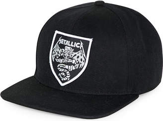 metallica Bat patch-embroidered canvas baseball cap