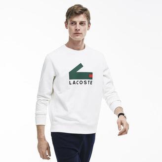 Men's Crocodile Print Cotton Fleece Sweatshirt $135 thestylecure.com