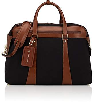 Anthony Logistics For Men T. Men's Canvas & Leather Weekender Duffel