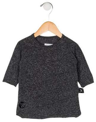 Nununu Boys' Knit Long Sleeve Shirt