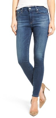 Women's Ag 'The Farrah' High Rise Skinny Jeans $298 thestylecure.com