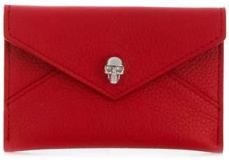Alexander McQueen foldover Skull wallet