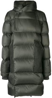 Rick Owens hooded padded coat