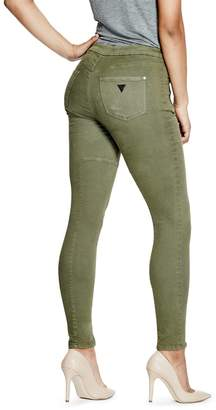 GUESS High-Rise Jeggings $108 thestylecure.com