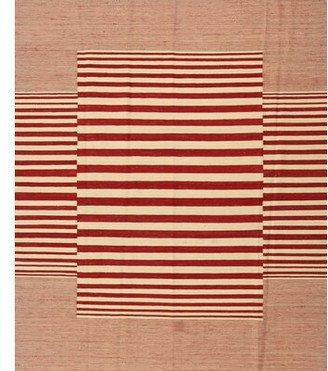 East Urban Home Contemporary Red Area Rug East Urban Home
