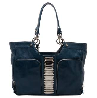 Balenciaga Blue Exotic leathers Handbags