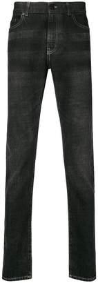 Saint Laurent faded slim fit jeans