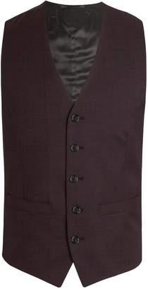 Men's Alexandre of England Sandford Merlot Flannel Waistcoat