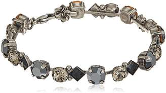 Sorrelli Onyx Darling Diamond Tennis Bracelet