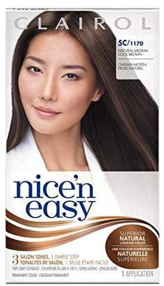 Clairol Nice 'N Easy Hair Color 117d Natural 1 Kit (Pack of 12)