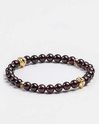 RUMI Red Garnet Gemstones Bracelet