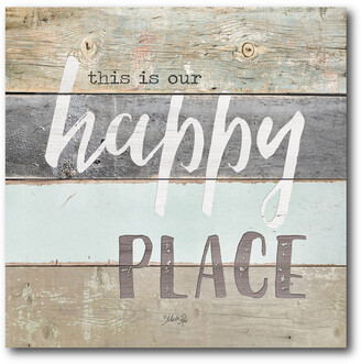 Courtside Market Wall Decor This Is My Happy Place Gallery-Wrapped Canvas Wall Art