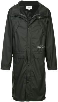 Makavelic Mot long raincoat