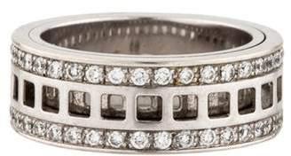 Gucci 18K Diamond Spinner Ring
