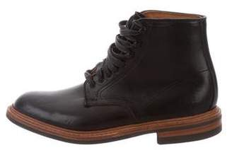 "Allen Edmonds Higgins Mill"" Leather Ankle Boots"
