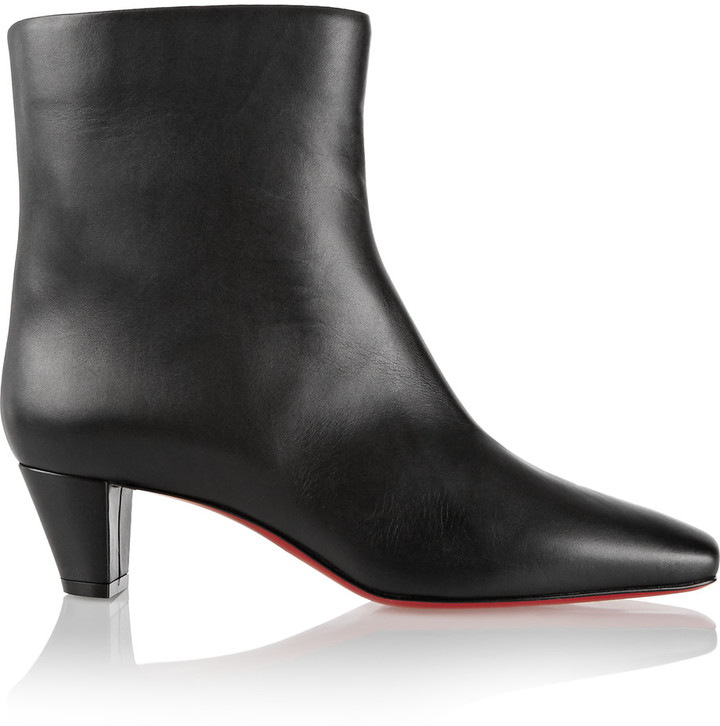 Christian Louboutin Christian Louboutin Nitapal 45 leather ankle boots