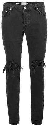 Black Blow Out Ripped Jeans $85 thestylecure.com