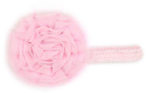 Mud Pie Baby-girls Newborn Rosette Soft Headband