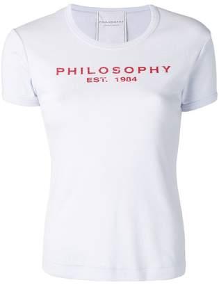 Philosophy di Lorenzo Serafini logo patch T-shirt