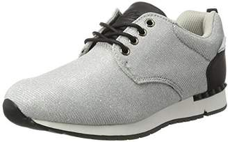 Lico Womens Low-Top Silver Size: