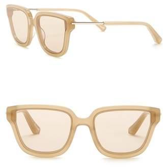 Elizabeth and James Barrett 57mm Square Sunglasses