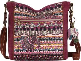 The Sak Sakroots Print Canvas Ava Crossbody Bag