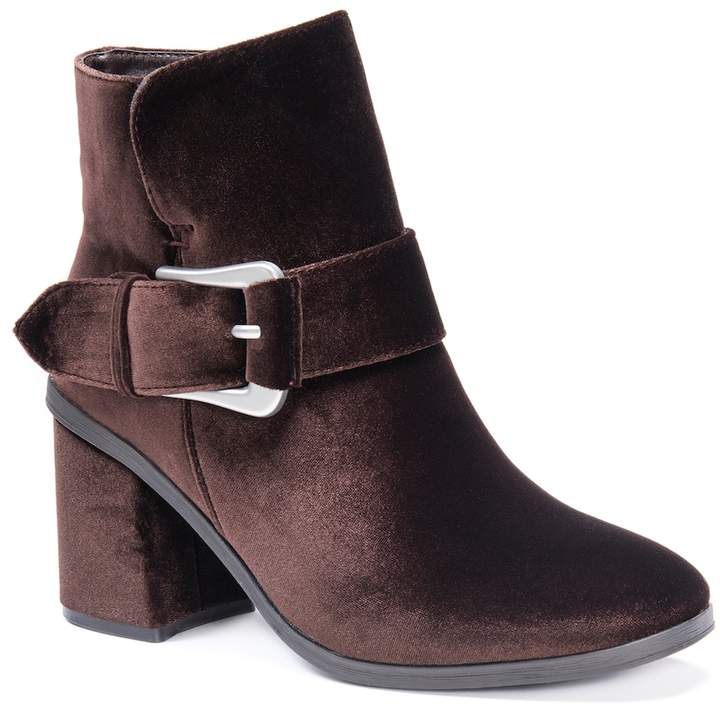 MUK LUKS Josephine Women's Water-Resistant Ankle Boots