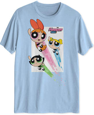 Hybrid Powerpuff Girls Men Graphic T-Shirt