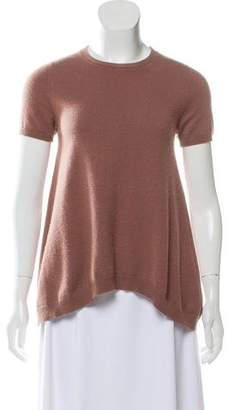 Brunello Cucinelli Cashmere Short Sleeve Top