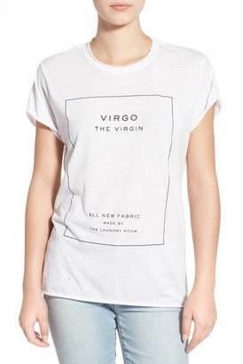 The Laundry Room &Virgo& Tee $54 thestylecure.com
