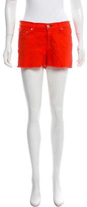 Rag & Bone Mid-Rise Mini Shorts